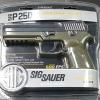 ปืนอัดแก๊สSig Sauer P250 .177cal. Blowback Co2 Pistol เบอร์ 1 ✔ใช้ลูกเบอร์ 1 .177cal. หัวโดม / หัวแหลม ✔ใช้แก๊สหลอด Co2 12g 1 หลอดยิงได้ 60 ครั้ง