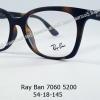 Rayban RX 7060 5200 โปรโมชั่น กรอบแว่นตาพร้อมเลนส์ HOYA ราคา 2,900 บาท