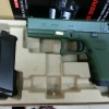 New.WE Glock17 T3 สไลด์เขียว เฟรมเขียว ท่อดำ ราคาพิเศษ