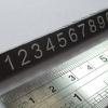 ตัวเลขแสดงราคา แบบลอยตัว ขนาด L บรรจุ 10 แถว/ชุด