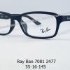 Rayban RB 7081D 2477 โปรโมชั่น กรอบแว่นตาพร้อมเลนส์ HOYA ราคา 2,900 บาท