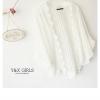 เสื้อคลุมลูกไม้สีขาว ของใหม่ป้ายห้อย