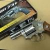 ปืนลูกโม่ 2.5 นิ้ว Sheriff M36 อัดแก๊ส Co2 สีเงิน - WinGun 731