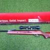 ปืนอัดลมHatsan Vortex95 QE Air Rifle เบอร์ 2 Price 20,500 ฿. ✔แรง 850Fps. ✔น้ำหนัก Weight 7.9kg. ✔ระบบหักลำกล้องโช๊คแก๊ส ✔ลำกล้อง Barrel Length 44.5 ✔ความยาว Overall Length 17.9 ✔พร้อมกล้องScope Optima 4x32 &#x271