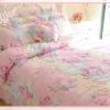 Pre-order ผ้าปูที่นอนลายดอกไม้สีรุ้ง