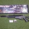 New.ปืนอัดลมปั๊มอินโดSharp River Slide Pump .177cal. Air Rifle ท้าย 3 รู เบอร์ 1 Price 6,500 ฿. ✔แรง 600Fps. ✔Body Wood ไม้ ✔Slide Pump 3-9 ครั้ง ✔ลำกล้อง Barrel 67cm ✔หวังผล 25-35m.ไกล 50m.+ ✔ลำกล้องทองเหลือง 12