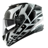 SHARK SPEED-R 2 CRAIG Black white silver KWS/HE4738