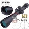 New.สินค้ามาใหม่ สโครปติดปืนจริง LEUPOLD MARK4 มาพร้อมข้อต่อบังแสง ระดับซูม 3.5-10x40 ราคาพิเศษ