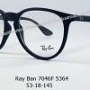 Rayban RX 7046F 5364 โปรโมชั่น กรอบแว่นตาพร้อมเลนส์ HOYA ราคา 3,700 บาท