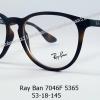 Rayban RX 7046F 5365 โปรโมชั่น กรอบแว่นตาพร้อมเลนส์ HOYA ราคา 3,700 บาท