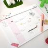 A4 MONTHLY Desk note Pad