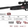 New.GAMO BLACK BULL IGT เบอร์ 2 ระบบ แก็สสปริง(igt) หักลำกล้อง ไก CAT รุ่นใหม่(ปรับระยะลากไก/ปรับระยะน้ำหนักไก) ความเร็วกระสุน 950 fps ระยะหวังผล 30- 60 เมตร โครงปืนทำจากโพลีเมอร์ น้ำหนักตัวปืน 3.3 kg รวมกล้อง ความยาวปืนรวม 45 นิ้ว ราคาพิเศษ
