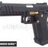 New.Armorer Works Double Barrel Hi-Capa GBB Pistol (Black) ราคาพิเศษ