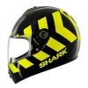 SHARK S600 PINLOCK NO PANIC Black Yellow Black KYK/HE2421