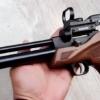 New.ปืนสั้นทรงแข่งขันArtimis Co2 Pistolเบอร์ 2 ✔แรง 390Fps.+ ✔รางติดกล้อง 11mm. ✔ใช้แก๊สหลอด Co2 12g ✔กริปมือจับไม้Grip Wood ✔2 in 1 สามารถยิงทีละนัด/ยิงโม่ได้ ราคาพิเศษ