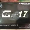 WE G17 GEN4 ดำ Glock 17 (full)