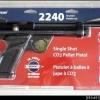 New.22 Pellet Crosman 2240 Bolt Action Co2 Pistol ราคาพิเศษ