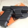 ⭕New.ซองปืน พกนอก Cytac สำหรับปืนสั้นทุกรุ่น กดปลดล๊อกโดยนิ้วโป้ง เซฟตี้ ‼️ป้องกันการแย่งปืนได้ดีเยี่ยม มีเพลทปรับ ระดับ ความสูงตำ่ในตัว ⭕ 🔖 ราคาโปรโมชั่นทุกรุ่น🔰 ✔ ซองปืนสั้น Fits Sig Sauer P320 Carry ✔ ซองปืนสั้น Fits Glock