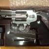 New.ปืนลูกโม่ 2.5 นิ้ว Magnum อัดแก๊ส Co2 สีเงิน - WinGun 708s. ราคาพิเศษ
