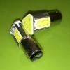หลอดไฟท้ายไฟเบรค LED ขา T20 แบบเขี้ยว 1157 COB 24 SMD