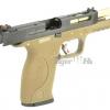 S&W M&P9 T3 B-Style สไลด์ดำ ท่อทอง เฟรมทราย