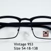 Vintage 953 โปรโมชั่น กรอบแว่นตาพร้อมเลนส์ HOYA ราคา 790 บาท