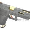 Glock35 T1 Gen4 สไลด์ดำ ท่อทอง เฟรมดำ WE