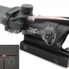 Trijicon ACOG TA31 Style 4x32 Scope Red Illuminated Auto Brightness (BK)prev next