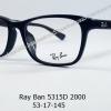 Rayban RX 5315D 2000 โปรโมชั่น กรอบแว่นตาพร้อมเลนส์ HOYA ราคา 2,900 บาท