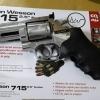 """New.ASG Dan Wesson 715 2.5"""" Co2. สีเงิน ราคาพิเศษ"""