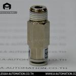ข้อต่อเช็ควาล์วเกลียวนอก SIVK Model:AKH08B-02S (สินค้าใหม่)