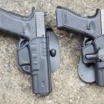 New.ซองปืน พกนอก Cytac สำหรับปืน GLOCK 17 / 19 / 34 กดปลดล๊อก-เซฟตี้ ‼️ป้องกันการแย่งปืนได้ดีเยี่ยม มีเพลทปรับ ระดับ ความสูงตำ่ในตัว ราคาพิเศษ