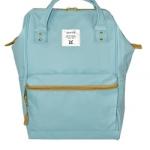 กระเป๋า Anello ขนาด mini สี Sax ฟ้าอ่อน ของแท้ นำเข้าจากญี่ปุ่น พร้อมส่ง