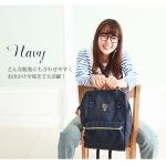 กระเป๋า Anello ขนาดปกติ Standard สีน้ำเงิน Navy ของแท้ นำเข้าจากญี่ปุ่น พร้อมส่ง