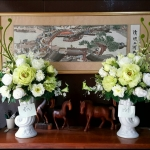 Flower-Hanabana ใหญ่ 81ซม (ส)x50ซม(ก)