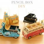 DIY box ที่ใส่เครื่องเขียน
