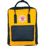 กระเป๋า Fjallraven Kanken Classic พร้อมส่ง สี Navy - Warm Yellow