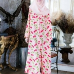 Sweet Cherry Muslimah Dress
