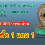 สายลม AOI ลดราคา เหลือเพียง 1,000 บาท ซื้อ 1 แถม 1