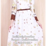 ☆ ✧ Floral Printed Chiffon Dress ✧BROWN