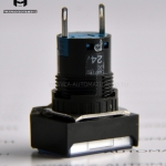 PILOT LAMP MODEL:AL6H-P4P-TK868-6A สีส้ม [IDEC]