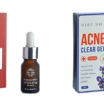 Acne Clear Gel + Astaxanthin Whitening SerumIssue