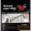 ล็อค มือเบรค กันขโมย ใช้ง่าย พกพา สะดวก งานหนา แข๊งแรง thumbnail 4