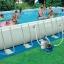 สระว่ายน้ำสำเร็จรูป Size 32 ฟุต ลึก 132 ซม. thumbnail 1