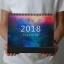 ปฏิทิน 2561 (2018) ปฏิทินกาแล็กซี่ ซื้อ 1 แถม 1 เลือกคละแบบได้ thumbnail 5