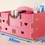DIY box กล่องลายหัวใจ 4 ลิ้นชัก thumbnail 7
