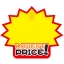 0156 S ป้ายระเบิด LOWEST PRICE Size S (บรรจุ 10 แผ่น ต่อ 1 ห่อ) thumbnail 1