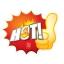 52004 M ป้ายระเบิด HOT ไฟ Size M (บรรจุ 10 แผ่น ต่อ 1 ห่อ) thumbnail 1