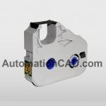 ตลับหมึก Canon MK1500 MK2500 หมึกพิมพ์ ผ้าหมึก MK-RS100B ใช้กับเครื่องพิมพ์ฮอตมาร์ค ปลอกมาร์คสายไฟ 3604B001