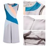 DR_8055, Coast Dress, เดรสแบรนด์เปลี่ยนป้าย, Grey style, Aug, 2015, S-XXL, ~15000-1999